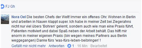 facebook Praxis Ziegerahn